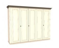 Jitona Georgia šatní skříň, 5 dveří