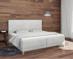 Slumberland Bristol čalouněná postel s úložným prostorem