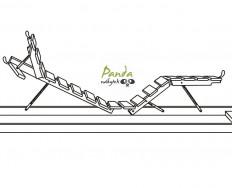 Rošt komplexní relaxační polohování pro matrace Jelínek