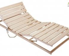 Rošt NOON® dřevěný s motorovým polohováním