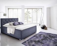Bastia antracitová postel