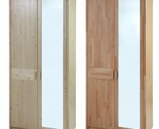 Gazel Enna 2 dílná - Zrcadlo šatní skříň
