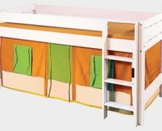 Gazel domeček oranžovo - zelený