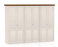 Jitona Ole šatní skříň, 6 dveří