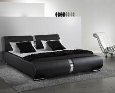 Beaune černá postel
