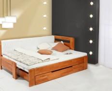 Vykona Duo Nina rozkládací postel s úložným prostorem