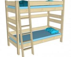 Gazel Sendy palanda etážová postel smrk výška 180 cm