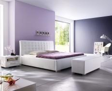 Antibes Comfort bílá postel