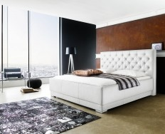 Avranches bílá postel