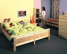 Gazel Anny 180 přírodní postel