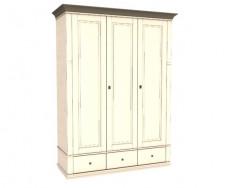 Jitona Georgia šatní skříň, 3 dveře, 3 zásuvky