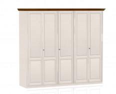 Jitona Ole šatní skříň, 5 dveří