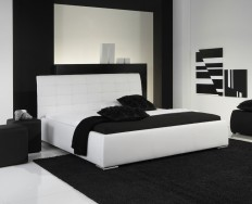 Bayonne bílá postel