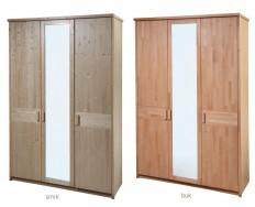 Gazel Enna 3 dílná - Zrcadlo šatní skříň + Akce