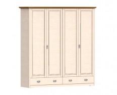 Jitona Country Inn šatní skříň, 4 dveře, 2 zásuvky