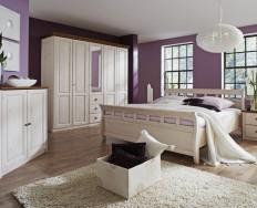 Jitona Ole postel 200 x 210 cm včetně matrací a roštů VÝPRODEJ z výstavní plochy