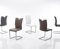 LONDON židle s krémovým kontrastním prošitím