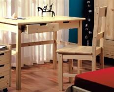 Gazel Mario psací stůl zásuvkový přírodní + Akce