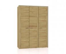 Jitona Keros šatní skříň, 3 dveře, sřímsou alezénami