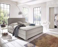 Bagnolet světle béžová postel