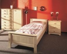 Gazel Anny 90 přírodní postel + Akce