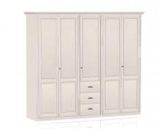 Jitona Ole šatní skříň, 5 dveří, 3 zásuvky