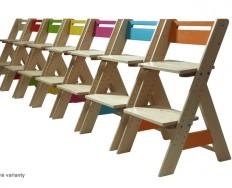 Gazel Zuzu dětská rostoucí židle + Akce