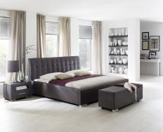 Antibes Comfort hnědá postel