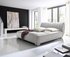 Anglet bílá postel s úložným prostorem
