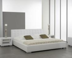 Antibes bílá postel