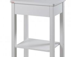 Gazel Theo Bílý noční stolek + Akce