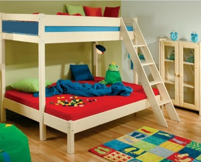 Etážová postel TERRY 381 NATIVE Gazel modrá