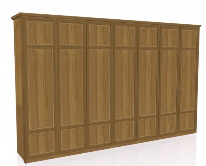 Jitona Piano šatní skříň, 7 dveří