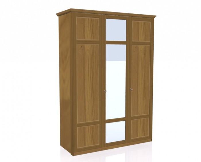 Jitona Piano šatní skříň, 3 dveře, 1 zrcadlo