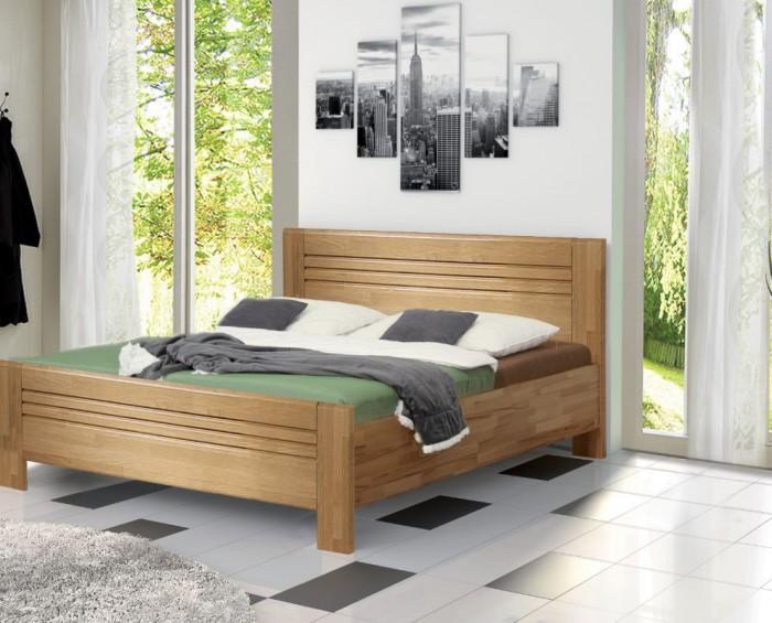 Vykona masivní buková postel Jola Lux