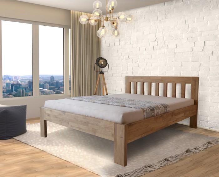 Bella Vista postel z dubového masivu