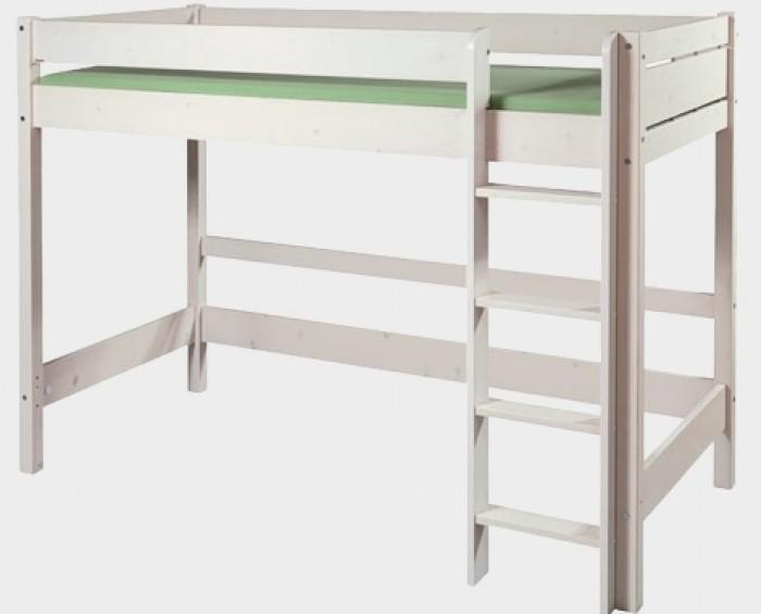 Etážová postel BELLA VYSOKÁ BÍLÁ B0387 Gazel