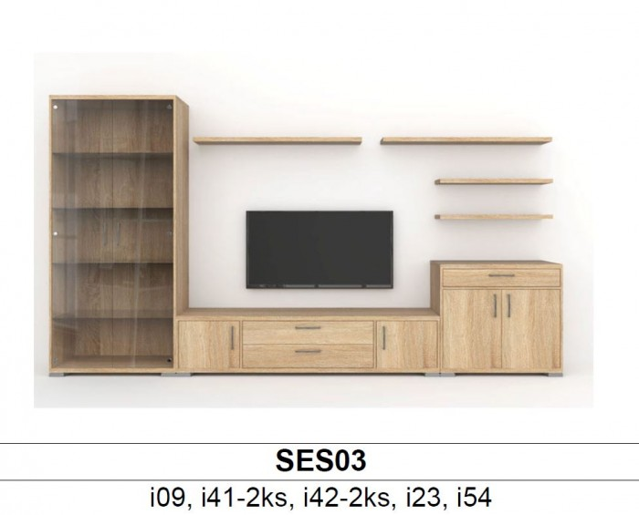 BMB Libreta SES03 obývací sestava