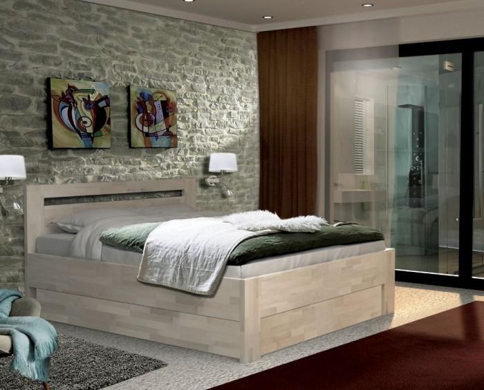 Vykona Iva masiv 40 výklop postel