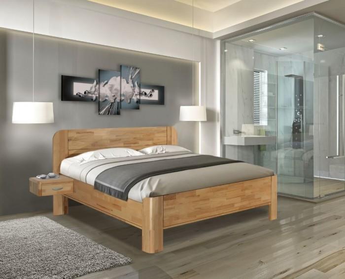 Vykona masivní buková postel Elen