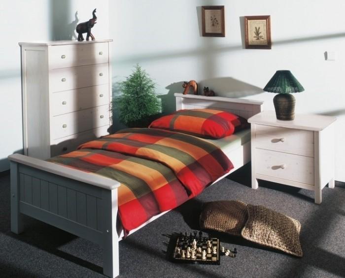 Gazel Anny 90 bílá postel