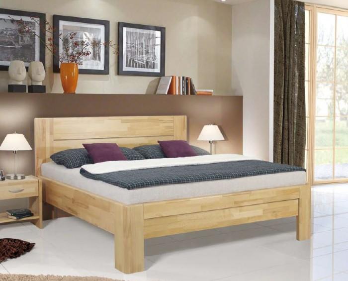 Vykona masivní buková postel Rita