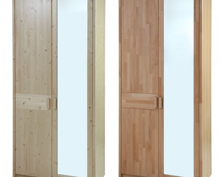 Šatní skříň ENNA 2 dílná Gazel - Zrcadlo