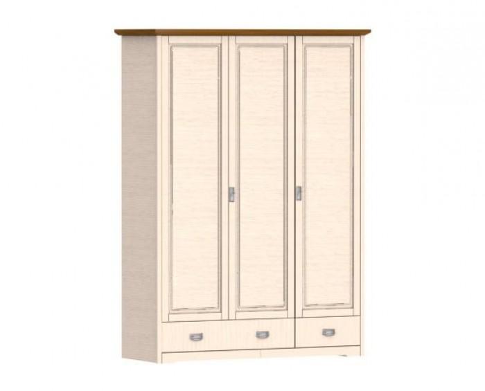 Jitona Country Inn šatní skříň, 3 dveře, 2 zásuvky