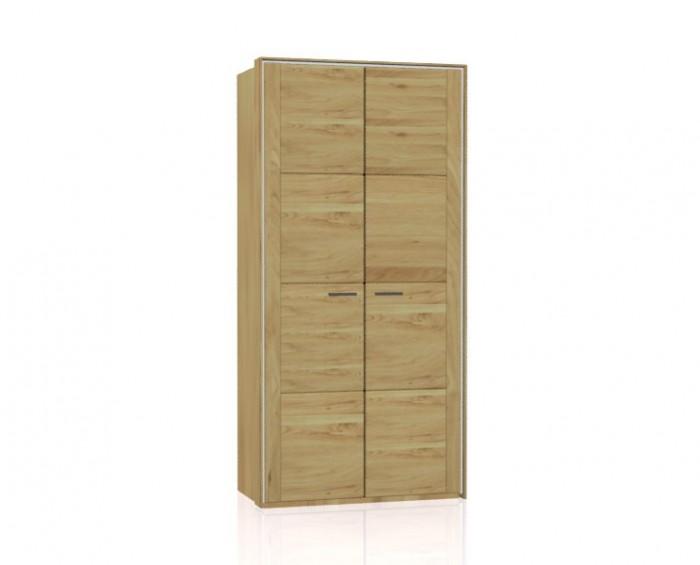 Jitona Keros šatní skříň, 2 dveře, s římsou a lezénami