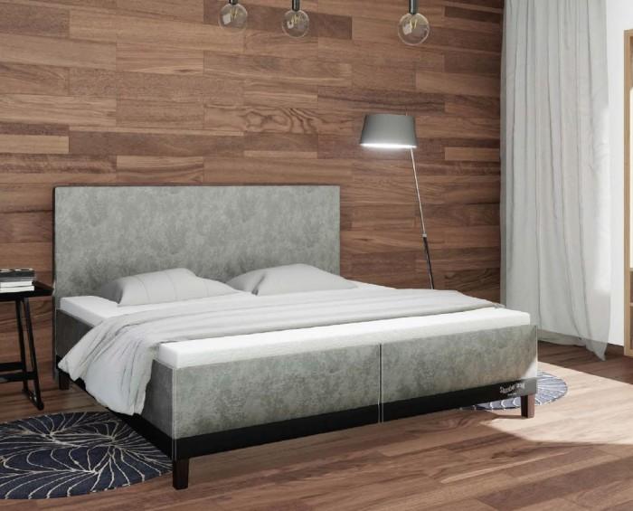 Slumberland Halifax čalouněná postel s úložným prostorem