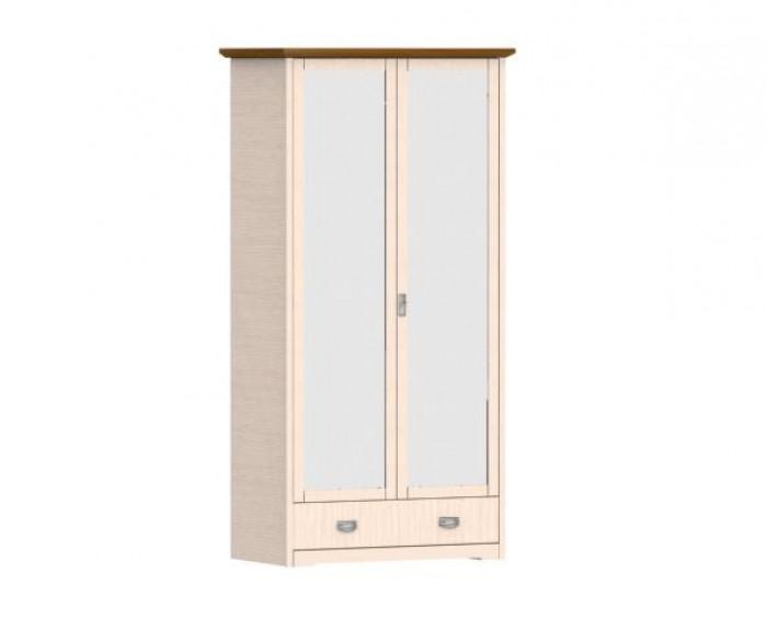 Jitona Country Inn šatní skříň, 2 dveře, 1 zásuvka, 2 zrcadla