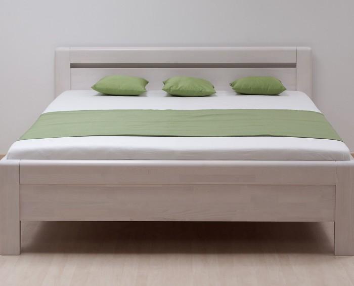 BMB Adriana Klasik Buk postel - BĚLENÁ - PRŮBĚŽNÁ LAMELA