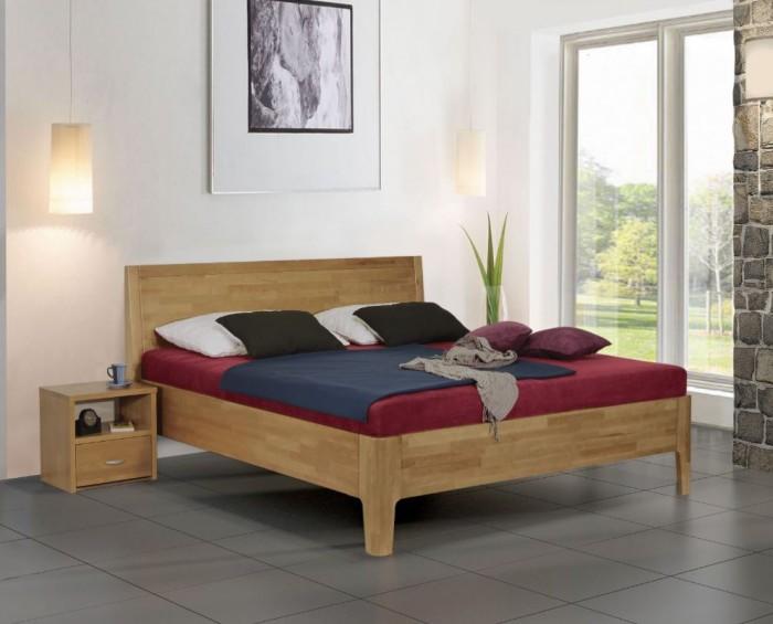 Vykona masivní buková postel Nina