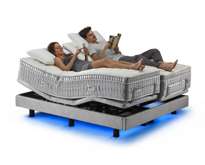Magniflex MagniSmartech kompletní postel včetně matrací